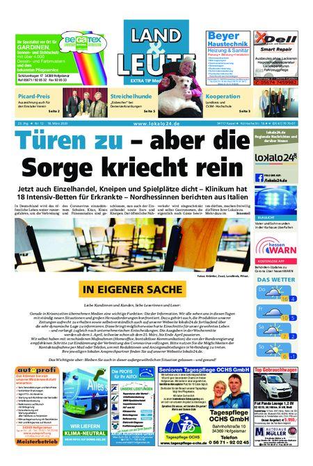 02-Wochenblätter ExtraTip vom 18.03.2020