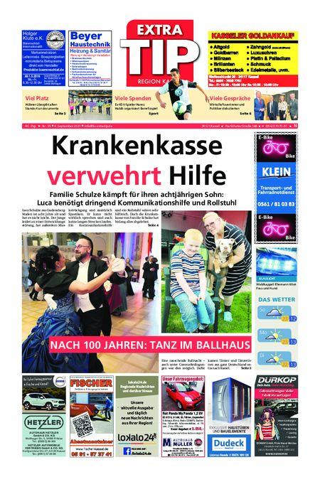 ExtraTip Kassel Nord vom 04.09.2021