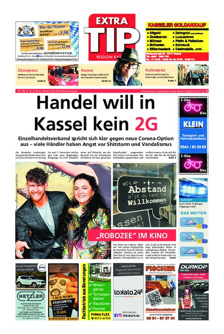 ExtraTip Kassel Ost vom 16.10.2021