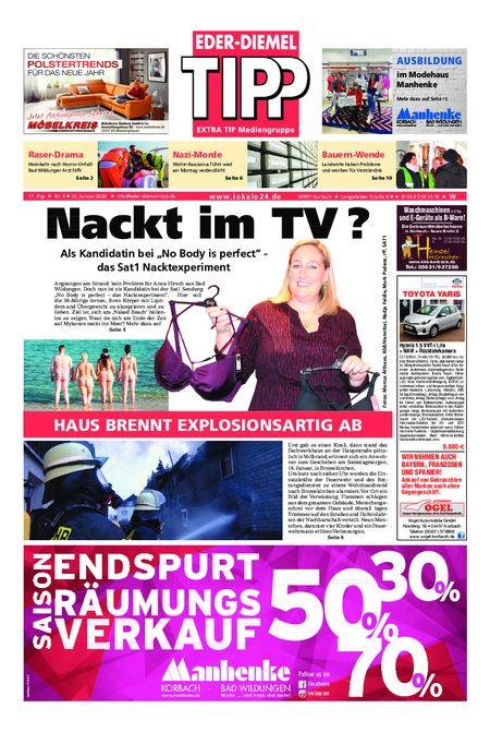 Eder-Diemel Tipp Waldeck vom 25.01.2020