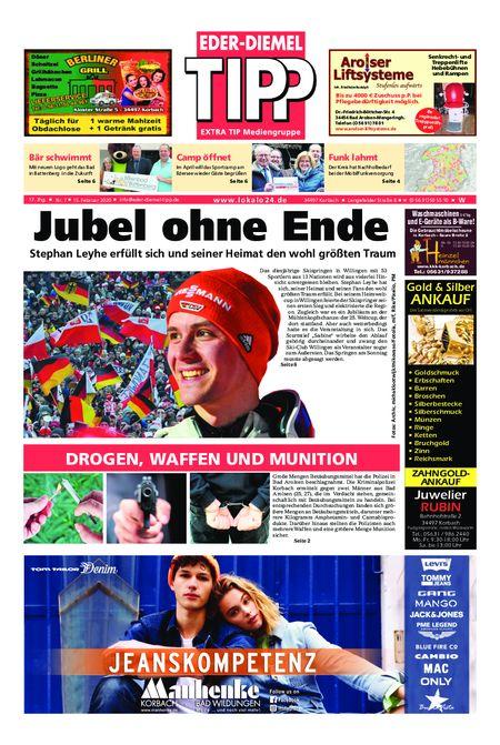 Eder-Diemel Tipp Waldeck vom 15.02.2020
