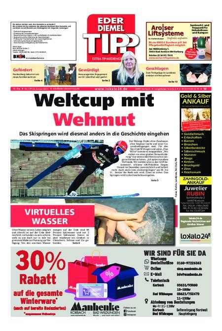 Eder-Diemel Tipp Waldeck vom 23.01.2021