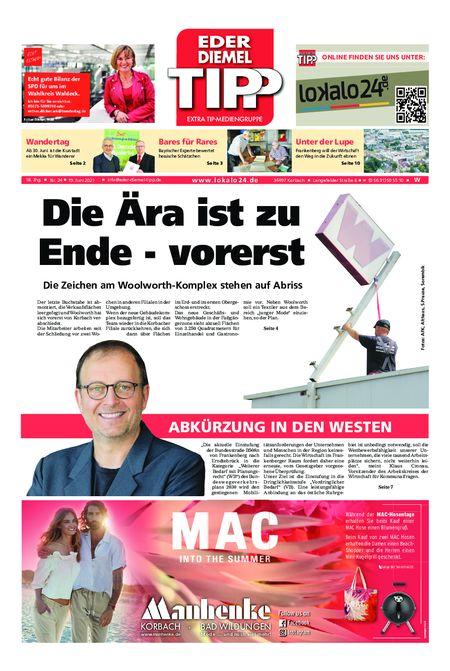 Eder-Diemel Tipp Waldeck vom 19.06.2021