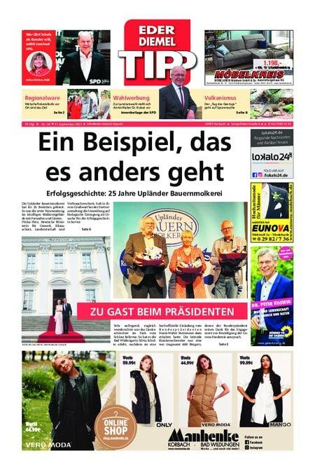 Eder-Diemel Tipp Waldeck vom 11.09.2021