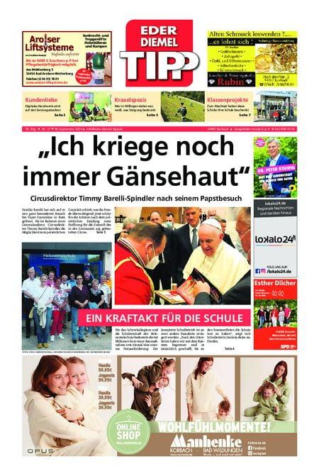 Eder-Diemel Tipp Waldeck vom 18.09.2021
