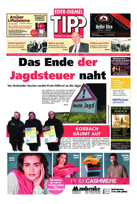 Eder-Diemel Tipp Frankenberg vom 07.12.2019