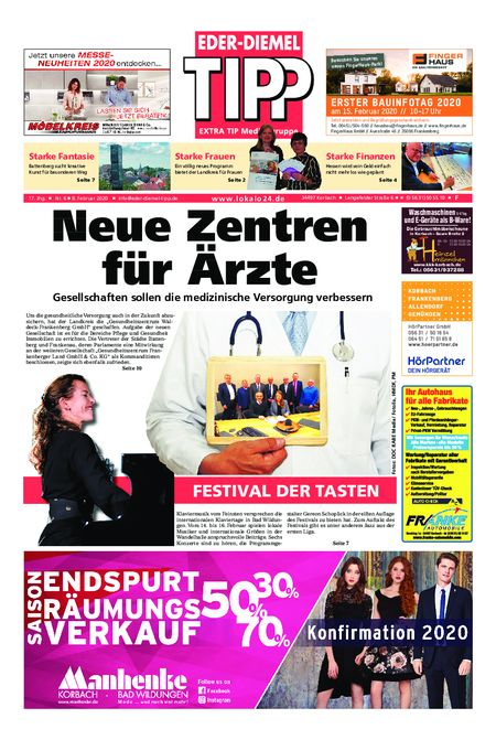 Eder-Diemel Tipp Frankenberg vom 08.02.2020