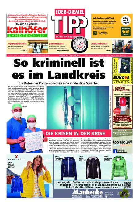 Eder-Diemel Tipp Frankenberg vom 28.03.2020