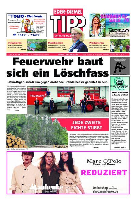 Eder-Diemel Tipp Frankenberg vom 11.07.2020