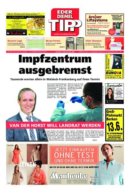 Eder-Diemel Tipp Frankenberg vom 12.06.2021