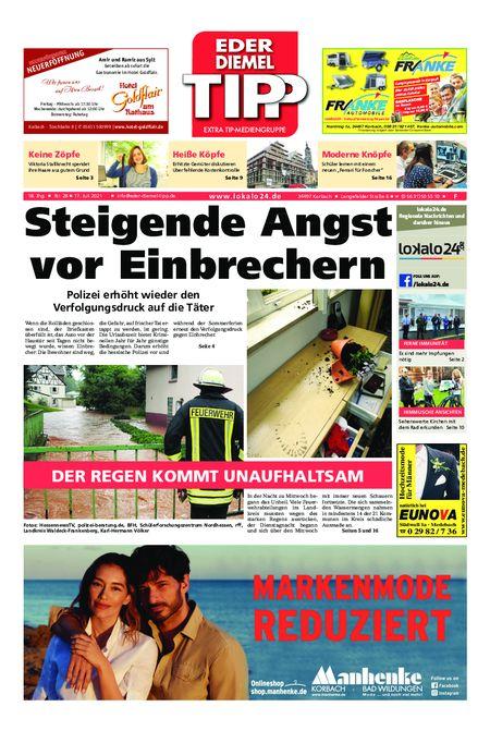 Eder-Diemel Tipp Frankenberg vom 17.07.2021