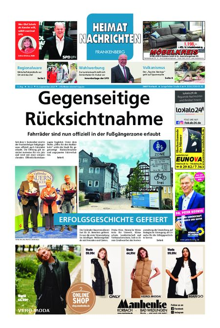 Eder-Diemel Tipp Frankenberg vom 11.09.2021
