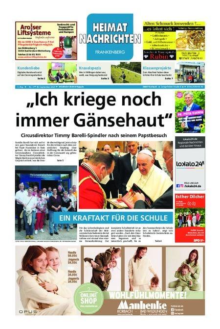 Eder-Diemel Tipp Frankenberg vom 18.09.2021
