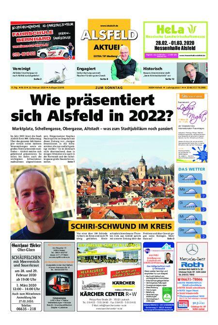 Alsfeld aktuell 22.02.20