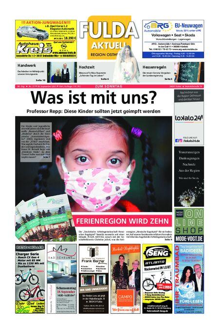 Fulda Aktuell 18.09.21