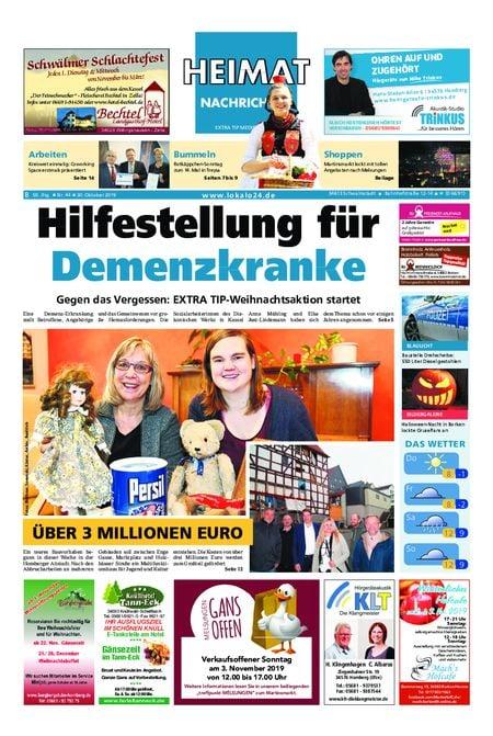 Heimat Nachrichten Borken vom 30.10.2019