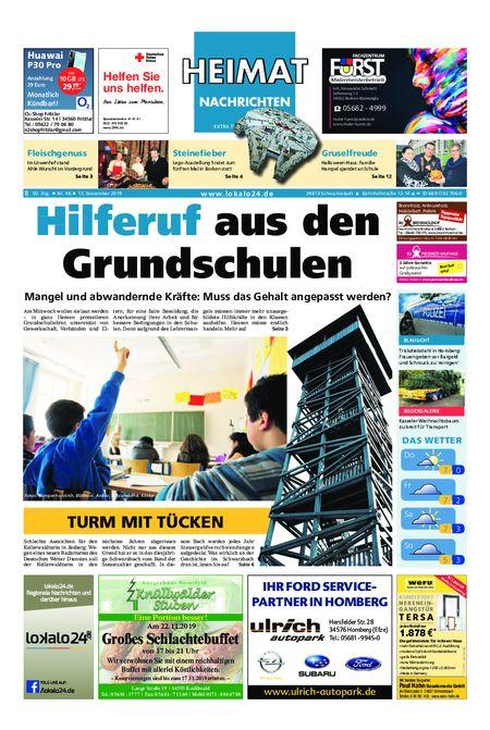 Heimat Nachrichten Borken vom 13.11.2019