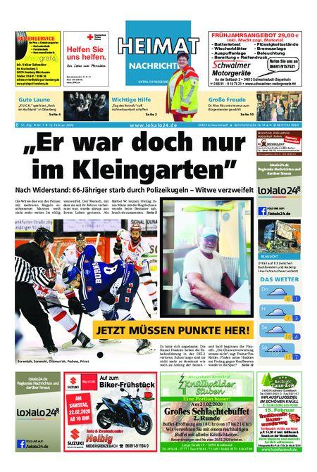 Heimat Nachrichten Borken vom 12.02.2020