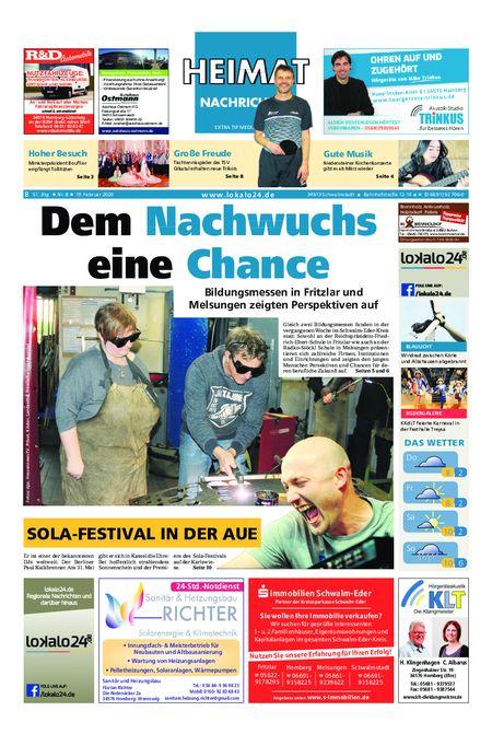 Heimat Nachrichten Borken vom 19.02.2020