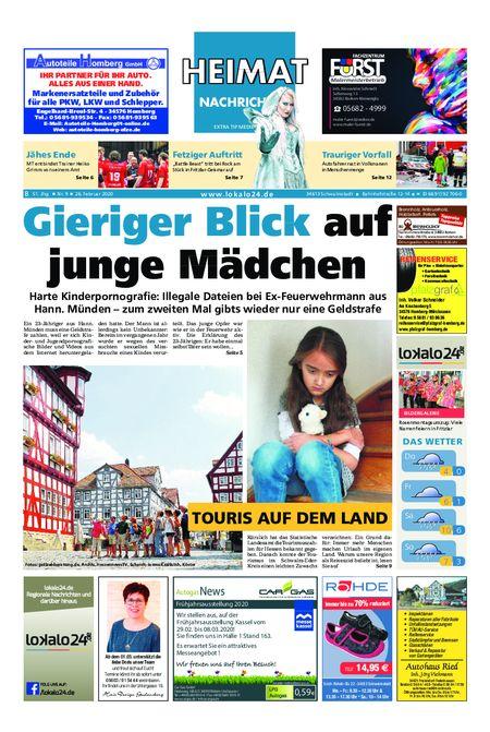 Heimat Nachrichten Borken vom 26.02.2020