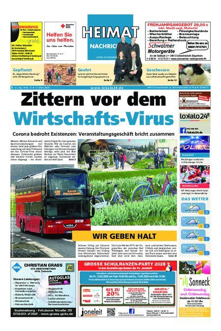Heimat Nachrichten Borken vom 11.03.2020