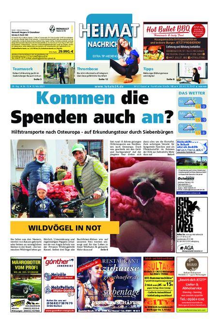 Heimat Nachrichten Borken vom 15.05.2021