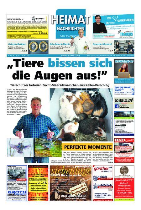 Heimat Nachrichten Borken vom 29.05.2021