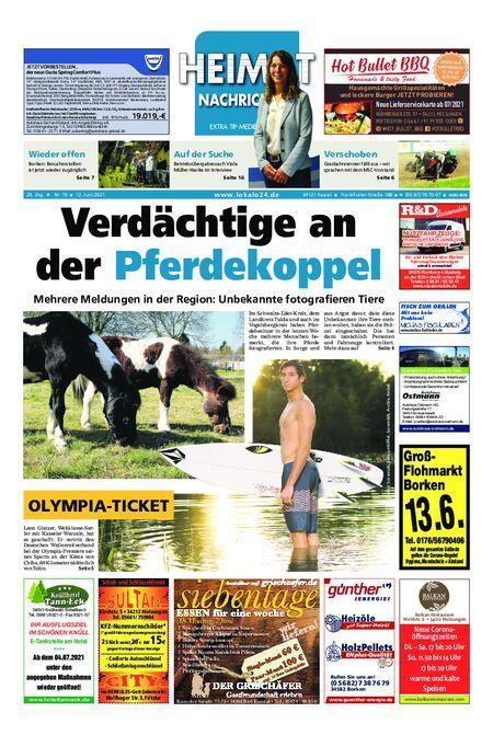 Heimat Nachrichten Borken vom 12.06.2021