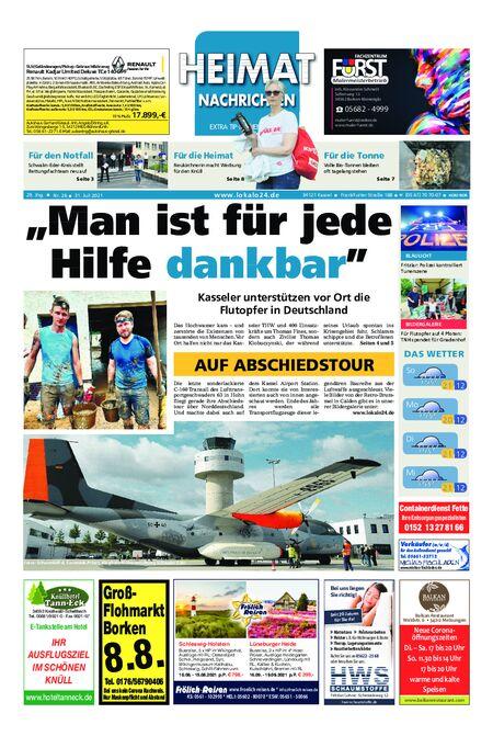 Heimat Nachrichten Borken vom 31.07.2021