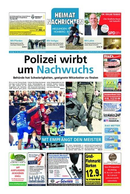 Heimat Nachrichten Borken vom 11.09.2021