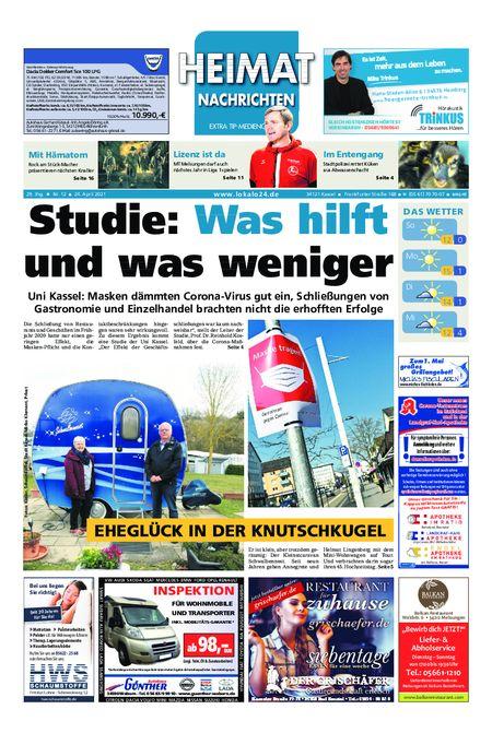 Heimat Nachrichten Melsungen vom 24.04.2021