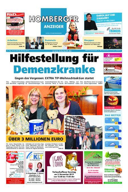 Homberger Anzeiger vom 30.10.2019