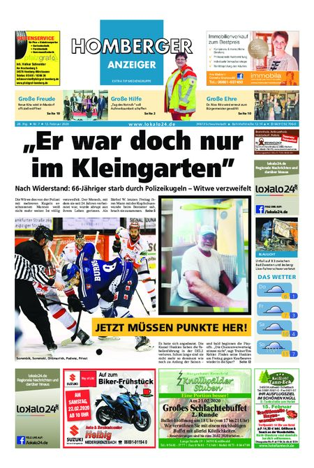 Homberger Anzeiger vom 12.02.2020