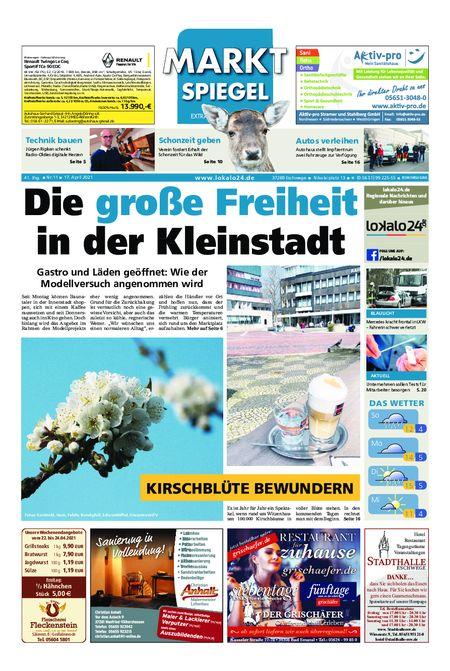 Markt Spiegel Eschwege vom 17.04.2021