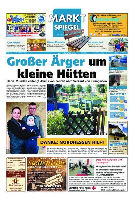 Markt Spiegel Eschwege vom 19.06.2021