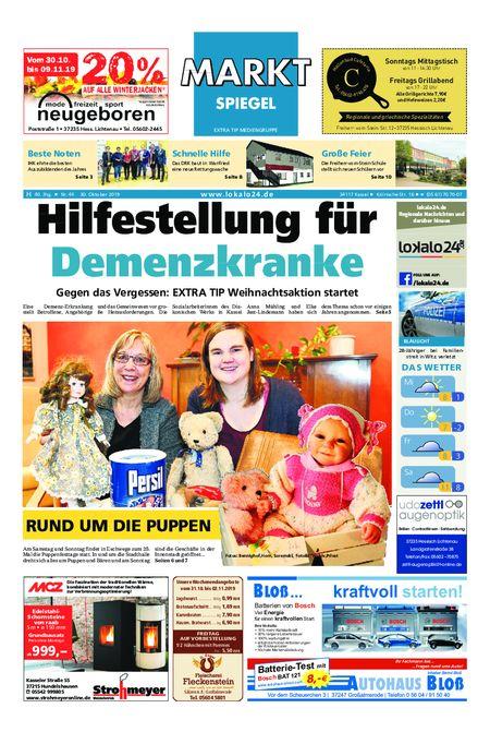 Markt Spiegel Hessisch Lichtenau vom 30.10.2019