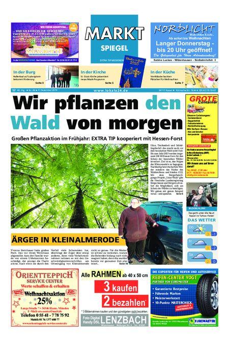 Markt Spiegel Witzenhausen - Bad Sooden Allendorf vom 04.12.2019