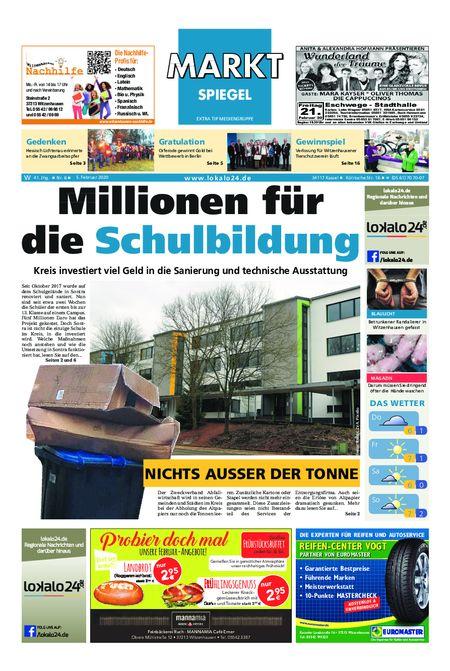 Markt Spiegel Witzenhausen - Bad Sooden Allendorf vom 05.02.2020
