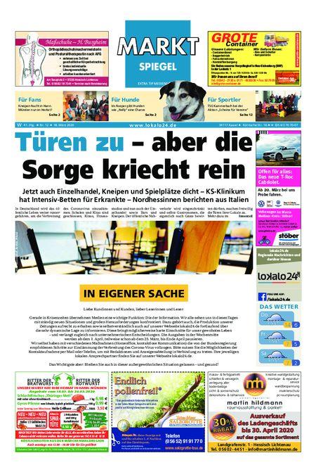 Markt Spiegel Witzenhausen - Bad Sooden Allendorf vom 18.03.2020