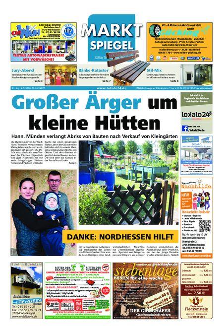 Markt Spiegel Witzenhausen - Bad Sooden Allendorf vom 19.06.2021