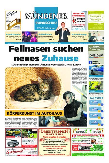Mündener Rundschau 06.11.19