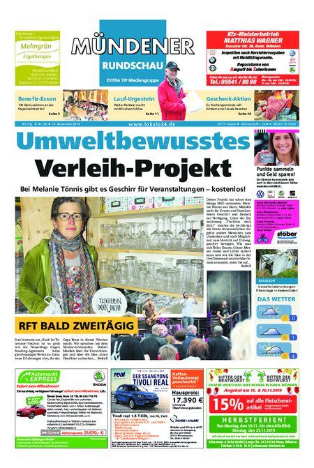 Mündener Rundschau 13.11.19