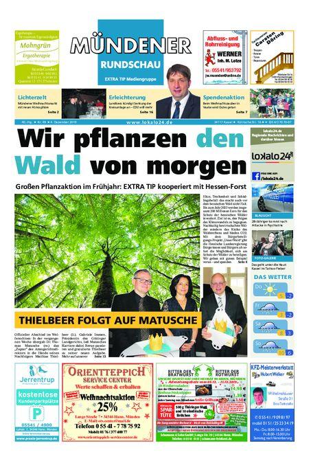 Mündener Rundschau 04.12.19