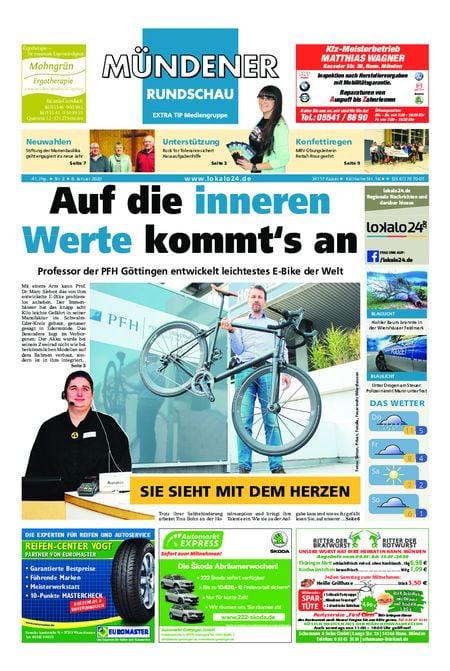Mündener Rundschau 08.01.20
