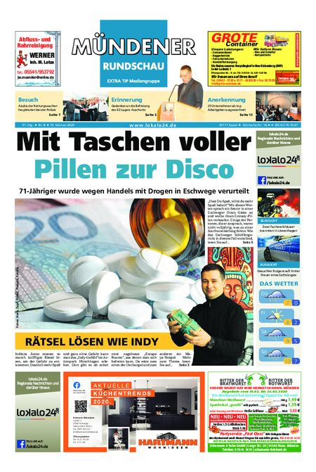 Mündener Rundschau 19.02.20