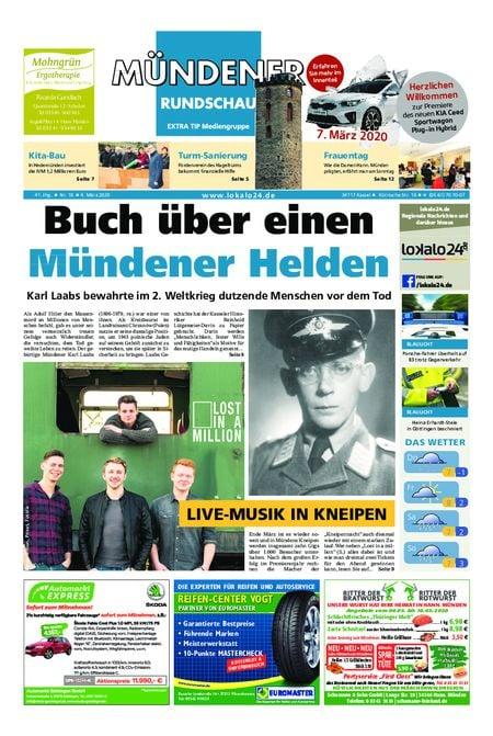 Mündener Rundschau 04.03.20