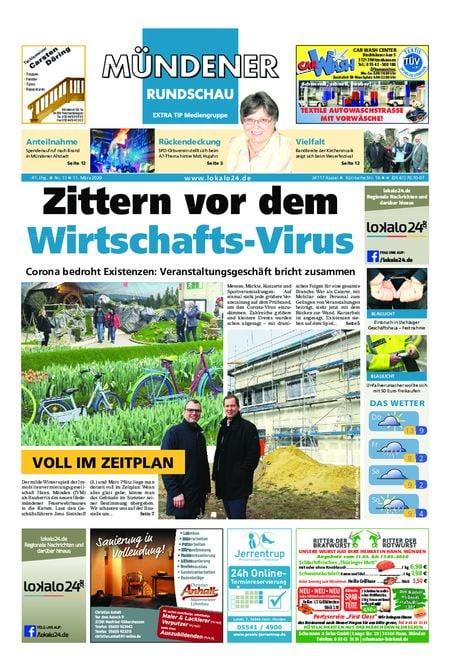 Mündener Rundschau 11.03.20