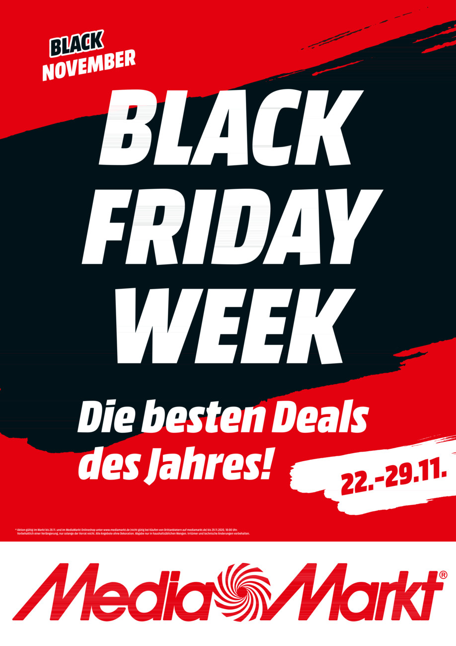 Media Markt Black Friday vom Montag, 23.11.2020