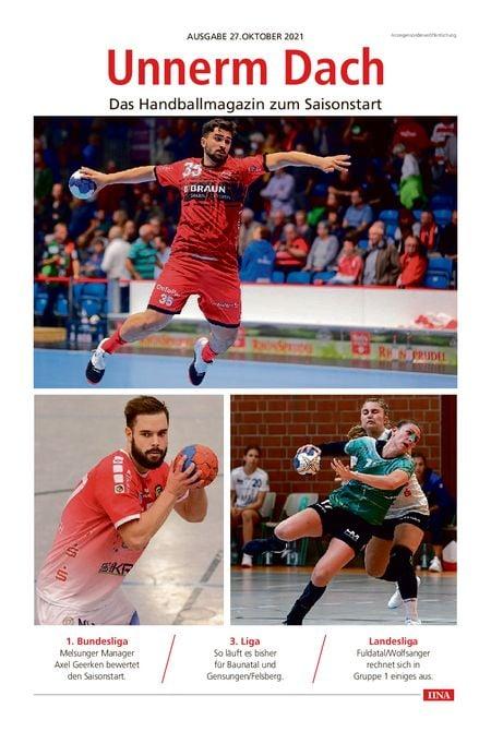 Unnerm Dach - Start in die Handballsaison vom 27.10.2021