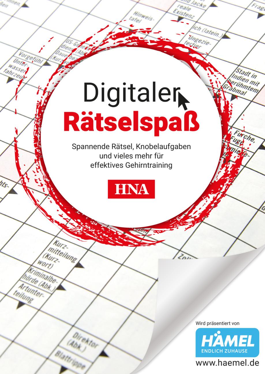 Digitaler Rätselspaß vom Mittwoch, 13.10.2021